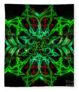 Charlotte's New Freakin' Awesome Neon Web Fleece Blanket