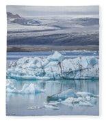 Chasing Ice Fleece Blanket