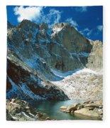 Chasm Lake Fleece Blanket