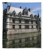 Chataeu Azay-le-rideau Fleece Blanket