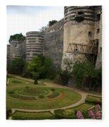Chateau D'angers Fleece Blanket