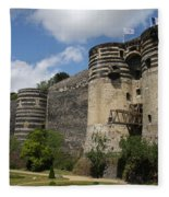 Chateau D'angers - The Keep Fleece Blanket