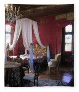 Chateau De Cormatin Fleece Blanket