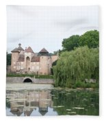 Chateau De Sercy - Burgundy Fleece Blanket