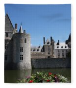 Chateau De Sully-sur-loire View Fleece Blanket