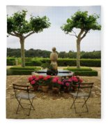 Chateau Malherbe Fountain Fleece Blanket