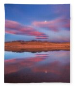 Chatfield Moon Fleece Blanket