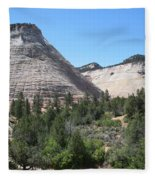 Checkerboard Mesa Fleece Blanket
