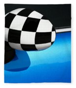 Checkered Finish Fleece Blanket