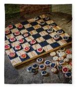 Checkers Fleece Blanket