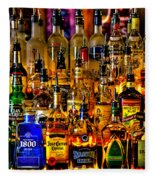 Cheers - Alcohol Galore Fleece Blanket
