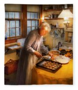 Chef - Kitchen - Coming Home For The Holidays Fleece Blanket