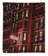 Chelsea Hotel Fleece Blanket