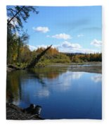 Chena River Fleece Blanket