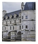 Chenonceau And River Cher Fleece Blanket