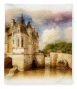Chenonceau Fleece Blanket