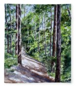 Cheraw Trail Fleece Blanket
