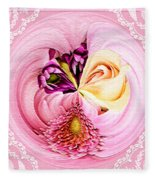 Cherished Bouquet Fleece Blanket