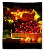 Cherries 299 A Pound Fleece Blanket