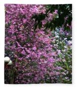 Cherry Blossom 3 Fleece Blanket