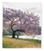 Cherry Blossoms 2013 - 003 Fleece Blanket