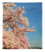 Cherry Blossoms 2013 - 014 Fleece Blanket