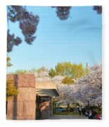 Cherry Blossoms 2013 - 021 Fleece Blanket