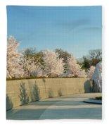 Cherry Blossoms 2013 - 022 Fleece Blanket