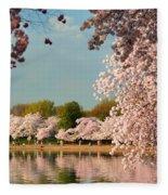 Cherry Blossoms 2013 - 023 Fleece Blanket
