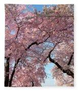 Cherry Blossoms 2013 - 025 Fleece Blanket