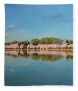 Cherry Blossoms 2013 - 026 Fleece Blanket