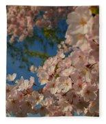 Cherry Blossoms 2013 - 035 Fleece Blanket