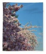 Cherry Blossoms 2013 - 046 Fleece Blanket