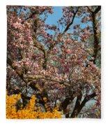 Cherry Blossoms 2013 - 051 Fleece Blanket