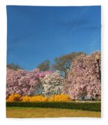 Cherry Blossoms 2013 - 052 Fleece Blanket
