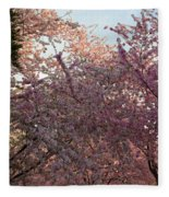 Cherry Blossoms 2013 - 065 Fleece Blanket