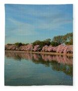 Cherry Blossoms 2013 - 087 Fleece Blanket