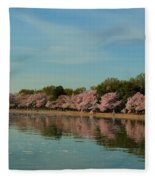 Cherry Blossoms 2013 - 088 Fleece Blanket