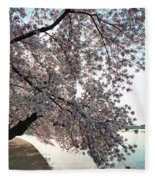 Cherry Blossoms 2013 - 092 Fleece Blanket