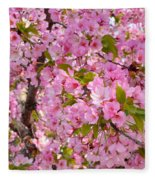 Cherry Blossoms 2013 - 097 Fleece Blanket