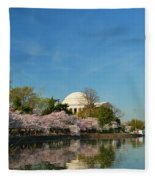 Cherry Blossoms 2013 - 098 Fleece Blanket