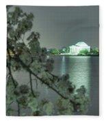 Cherry Blossoms 2013 - 102 Fleece Blanket