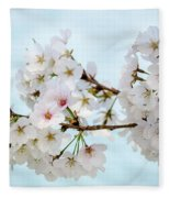 Cherry Blossoms No. 9146 Fleece Blanket