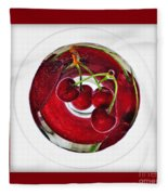 Cherry Liqueur Anyone... Fleece Blanket