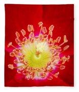 Cherry Pie Rose 03a Fleece Blanket