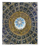Cherubic Cupola Fleece Blanket