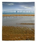 Chesapeake Bay Bridge Fleece Blanket
