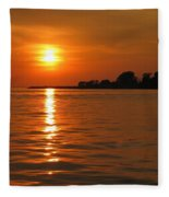 Chesapeake Sun Fleece Blanket