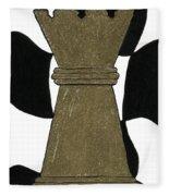 Chess Queen Fleece Blanket