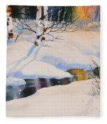 Chester Creek Shadows Fleece Blanket